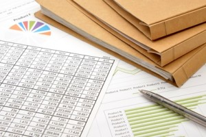 ビジネスイメージ―ファイルと資料